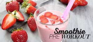 Smoothie pre workout