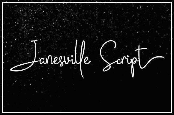 Janesville Script (50% Off) by Fargun Studio on @creativemarket