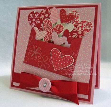 открытки скрапбукинг день святого валентина - Поиск в Google