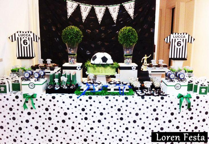 Decoração para Festa Infantil Futebol