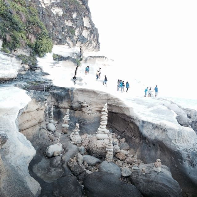 Its more fun in the Philippines! Kapurpurawan rock formation in Ilocos Norte!