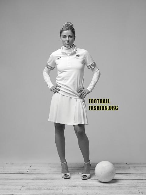 Boris Diaw's France Nike EURO 2012 Away Kit Photograph Collection