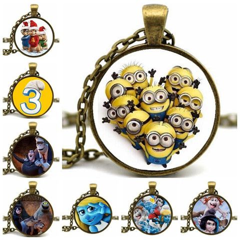 15 best handmade cabochon pendant necklaces images on pinterest handmade cartoon characters cabochon pendant necklace mozeypictures Gallery