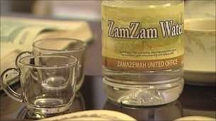 http://ahlesunnatuljamaat.com/zamzam-well-facts-and-benefits/ - Zamzam is the name of the well that provides the water to billions of people