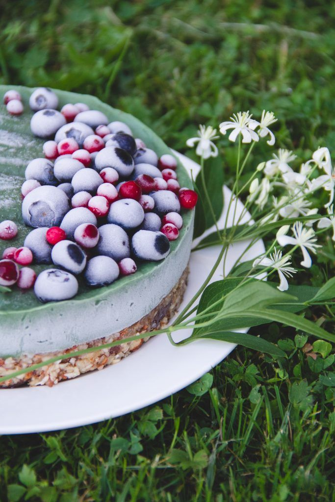 Raw vegan avocado cake recipe