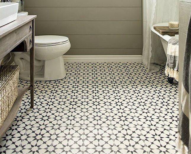 vintage bathroom floor tile pattern vintage bathroom remodeling ideas - Bathroom Floors