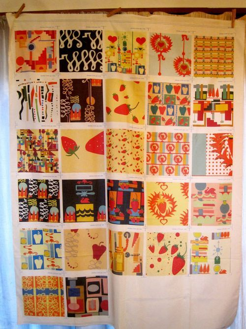 Create a fabric collection from a paper collage (from spoonflower blog)