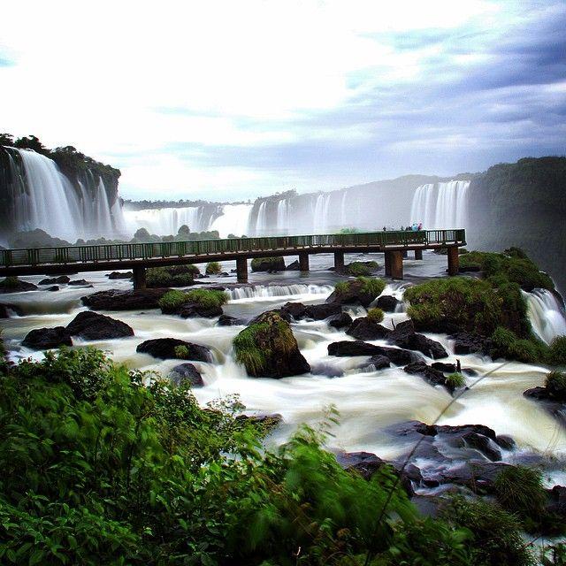 Iguazu Falls #iguazu #iguassu #iguacu #falls #argentina #brazil #exploya #travel #planning #startup #nature #inspiration #unesco #border #nationalpark