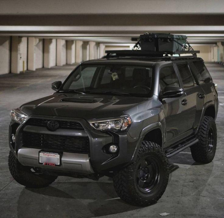 Black Toyota 4Runner - follow _carlomagne on IG for more!