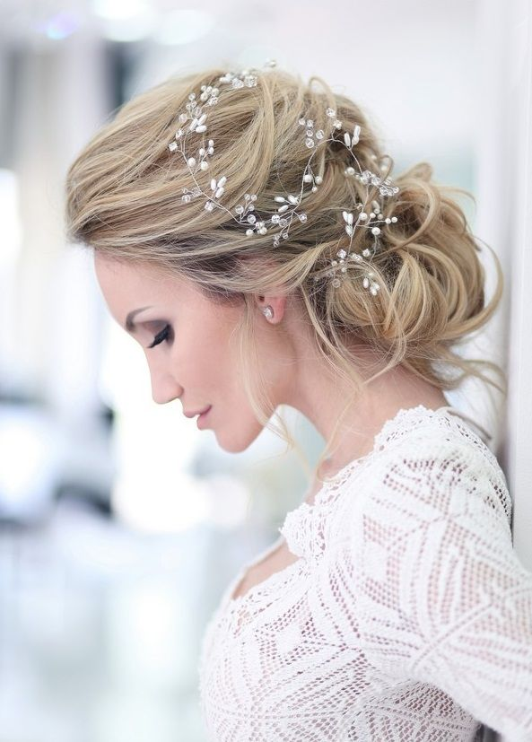 Hochzeitsfrisur 2019-2020 – die schönsten Frisurenideen für die Braut – Kurzhaar Frisuren | kurze frisuren and frisuren