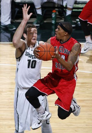Spartans 101, Huskies 46: Denzel Valentine's triple-double leads Michigan State past St. Cloud State | MLive.com