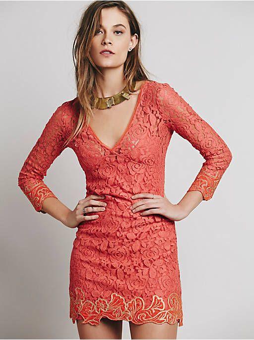Free People FP X Cassidy Mini Dress, $128.00
