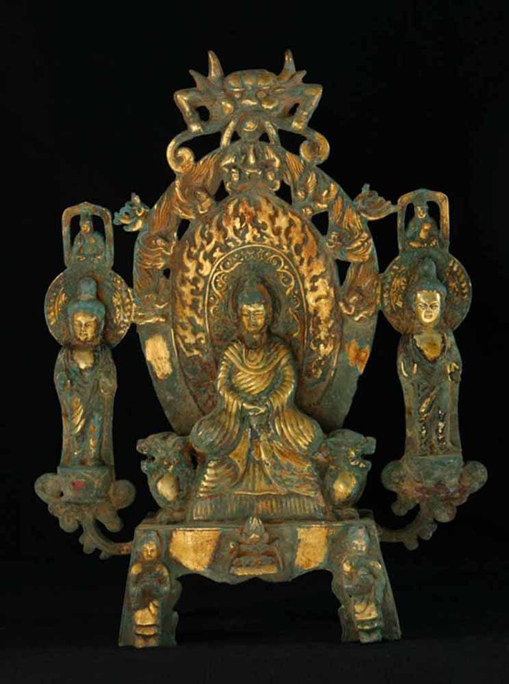 Six Dynasties Anonymous (222-589)  Early Buddhist Altar.