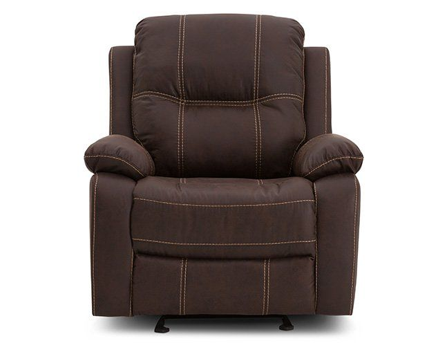 Dylan Power Glider Recliner Rowe Furniture Leather Reclining