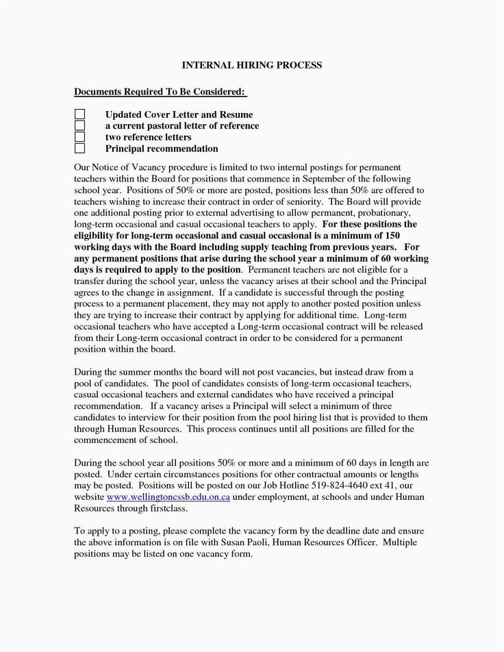 23+ Cover Letter For Internal Position (With images