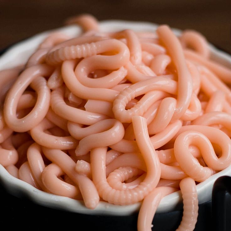 Creepy Edible Worms | Ashlee Marie - real fun with real food