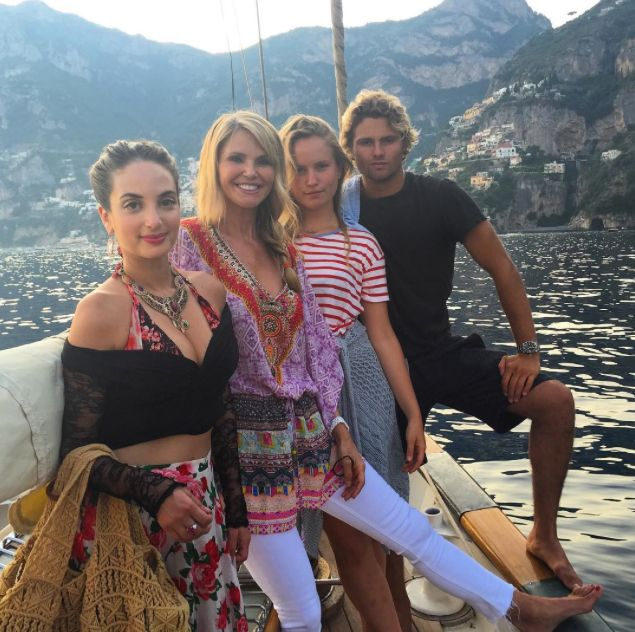 Christie Brinkley and Her Gorgeous Family Vacation in Italy—See the Photos