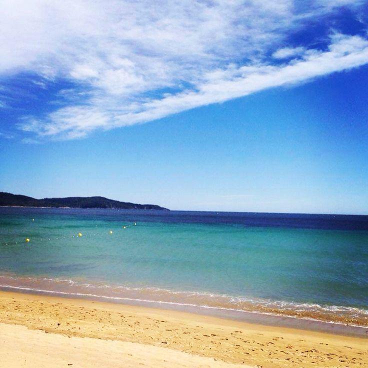 Spectacle de couleurs a #cavalaire en hiver #plage #mer #cavalairetourisme ❤️