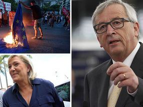EUROPEAN voters tonight delivered a brutally blunt message to chief eurocrat Jean-Claude Juncker as they urged him to drop his mad dream of an EU superstate and hand back powers to member states.