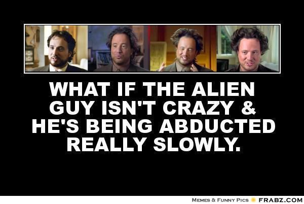 """Ancient Aliens guy memes -  Giorgio A. Tsoukalos, """"Ancient Aliens Guy"""" show from the history channel"""