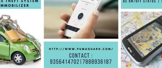 Curb the car and tyre thefts with Puma Guard : Chandigarh India's best GPS Vehicle Tracking and anti car tire theft protection system with  vehicle theft call alert device For More Info: Visit : http://www.pumaguard.com/