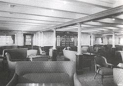 Second class library. Titanic.