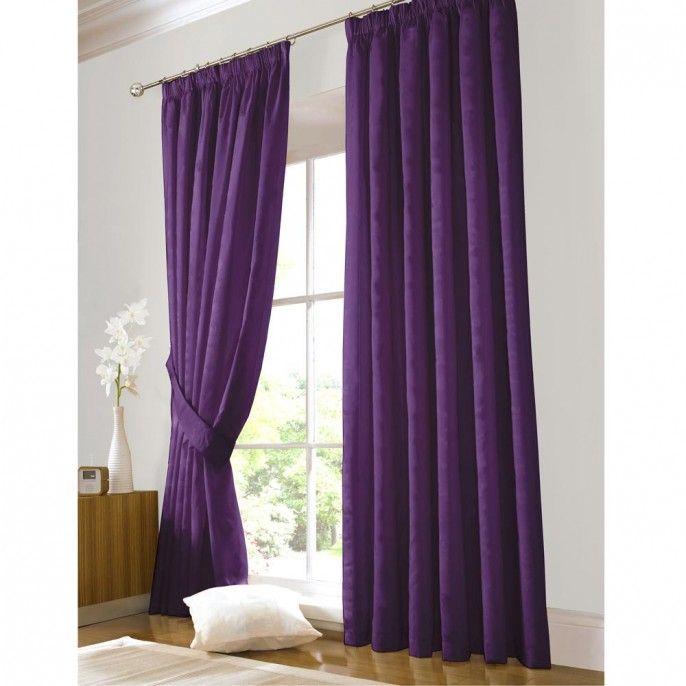 META: Ready Made Faux Silk Curtains | Poundstretcher