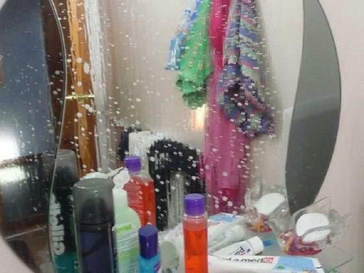 зеркало в ванной не запотеет