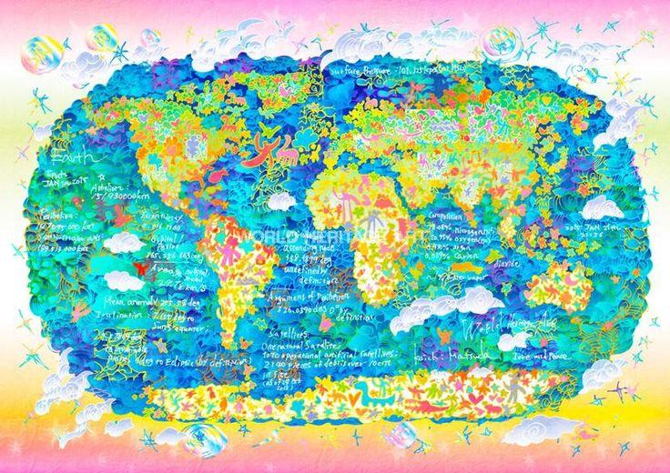 #Earth #4 #WorldHeritage #Art #KoichiMatsuda