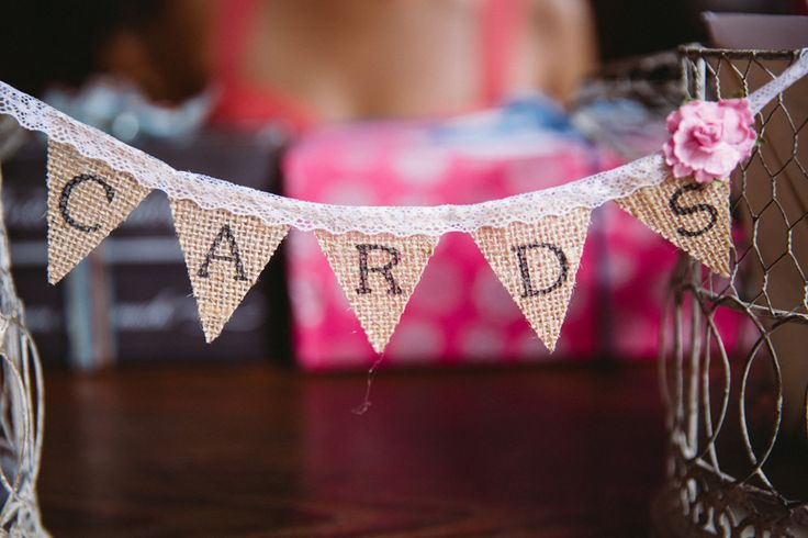 """Cards"" Garland http://www.fusion-events.ca/"