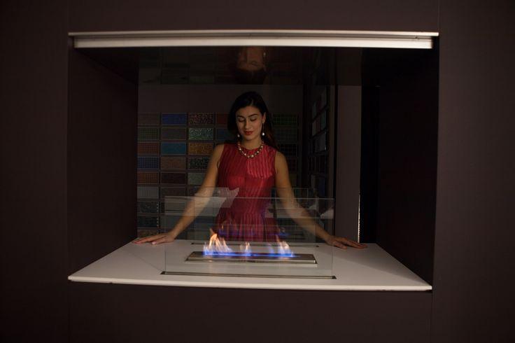 Innovazione ed eleganza per il camino al bioetanolo atossico ed eco-friendly!  Quando il calore incontra l'arte...