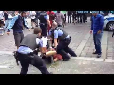 German democracy: how police beats citizens in Berlin
