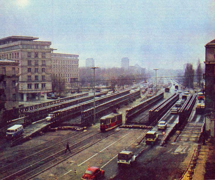 Aleja Niepodległości/Wawelska 1974