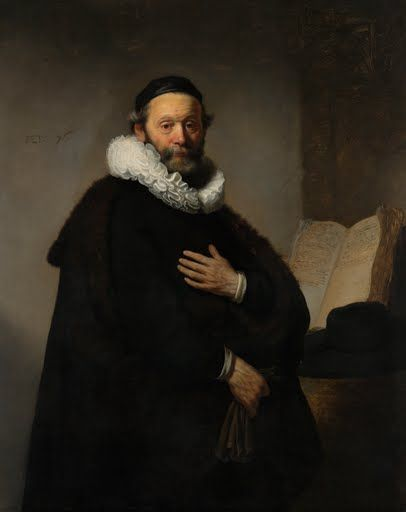 Wtenbogaert (1557- 644) was a famous preacher, the founder and leader of  the Remonstrant Brotherhood. At the request of one of his followers, he had  his po...