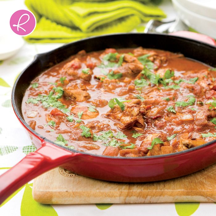 Curry night has never looked so good - delicious and healthy!