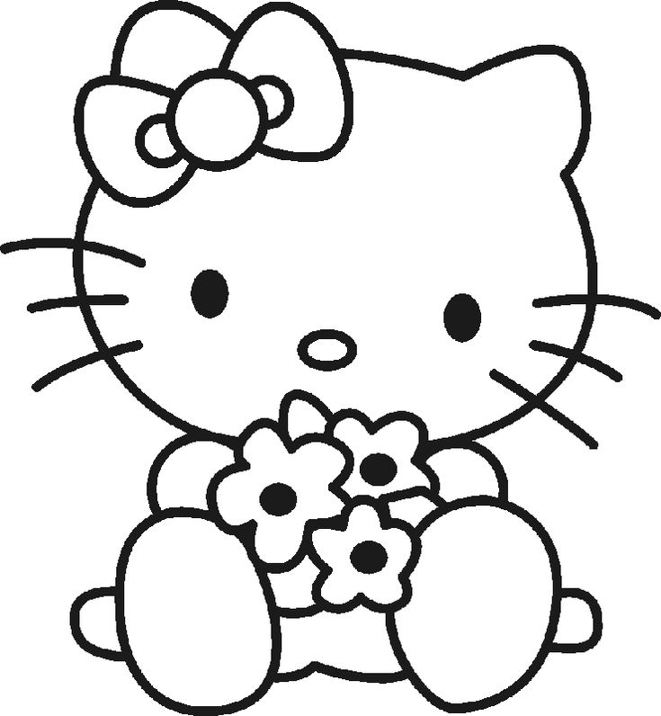 Hello Kitty Cheerleader Coloring Pages : Best images about hello kitty on pinterest coloring