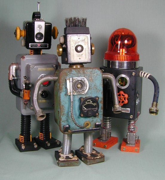 Sally Colby Robots