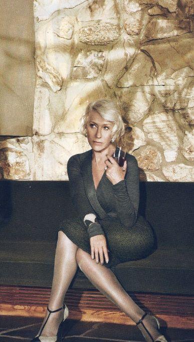 Helen Mirren via In Style