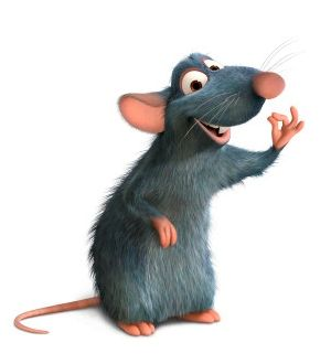 le film Ratatouille... mon préféré !!