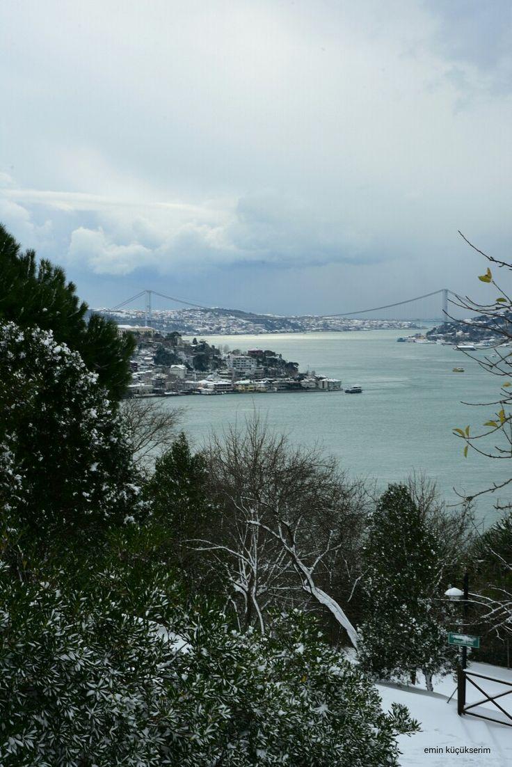 Tema Parkından İstanbul bogazı. Fotograf: Emin Küçükserim