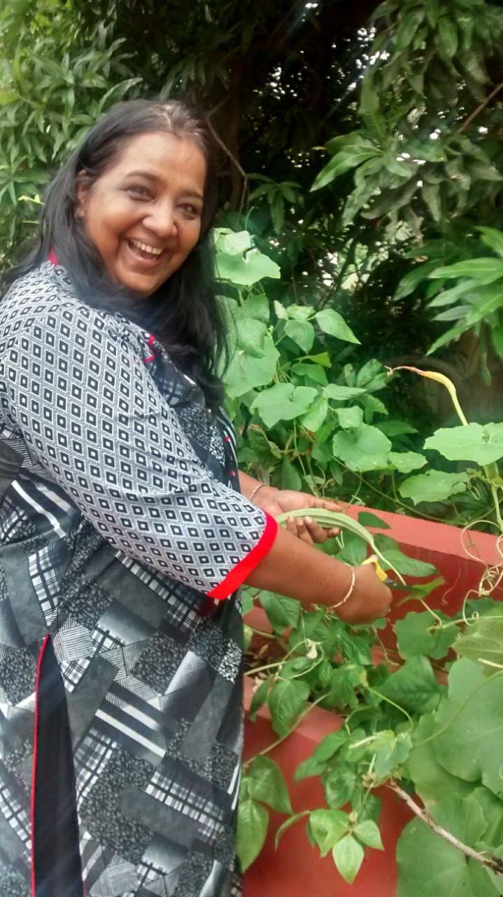 Growing 50 Veggies Fruits At Home Chennai Woman Makes Her Own Organic Soaps Organic Soap Organic Women