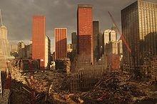 """""""Ground Zero""""  World Trade Center 9-11"""