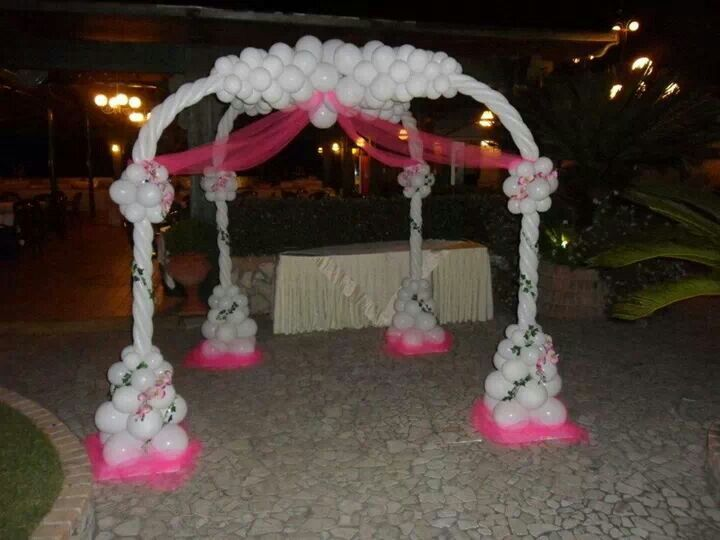 63 best images about balloon canopy dance floor on for Balloon decoration in coimbatore