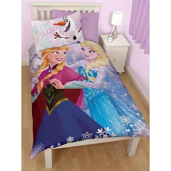 Flot sengetøj med motiv af søstrene Anna og Elsa fra Disney filmen Frost