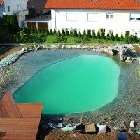 Projektreferenz Schwimmteich Bei Heilbronn   Dieser Schwimmteich Entstand  Im Eigenbau Mit Der Unterstüzung Von Mielkeu0027s Schwimmteiche
