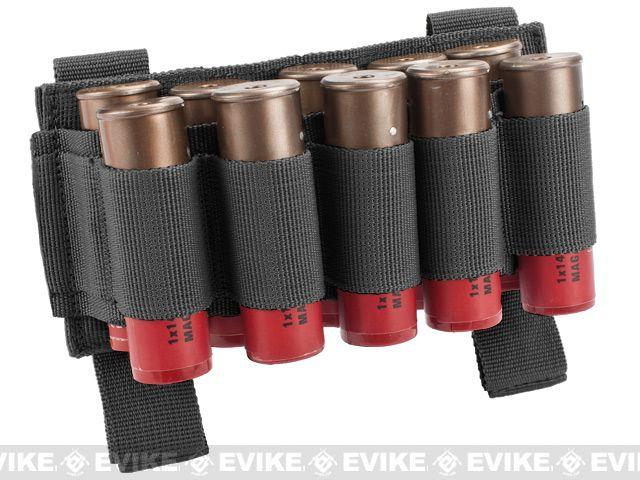 Matrix 10 Shotgun Shell MOLLE System Ready Pouch / Holster - Black
