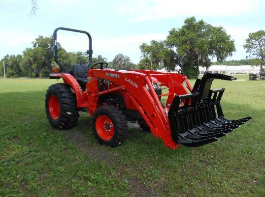 L4701 Kubota Tractor Mini Grapple Attachment Kabota In 2019 Sub