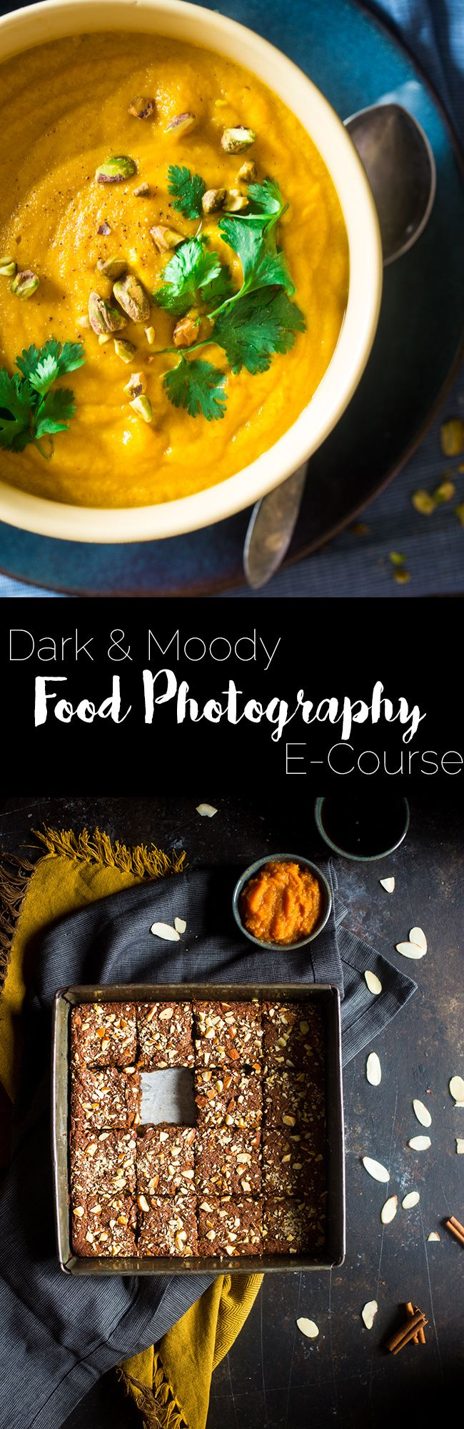 Dark and Moody Food Photography E-Course - Learn how to take gorgeous, moody