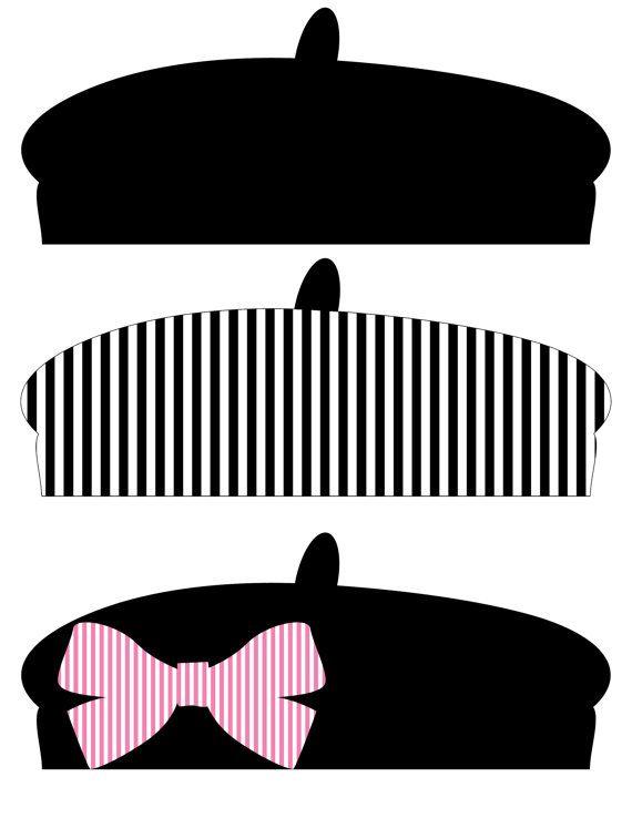 Instant Download Paris France French Pink por AmandaKPrintables