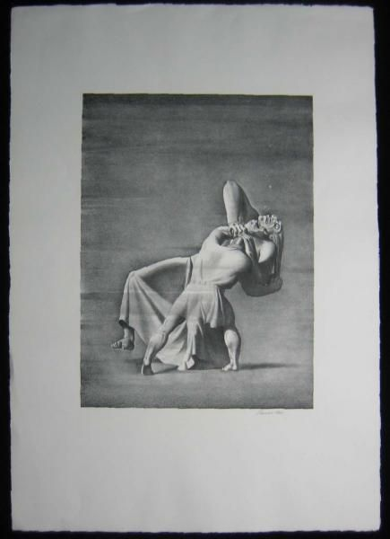 1931 Original Rockwell Kent Print of Beowulf Grendel's Mother ...